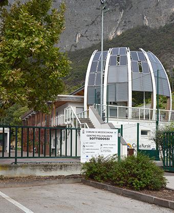 Youth Centre Sottodossi in Mezzocorona. ©Paolo Bertotti