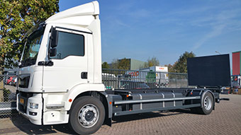 eTruck project developed an innovation platform for electric commercial vehicles, ECVs. ©eTruck