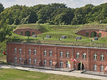 The Shelter Barracks at the Hevelianum Centre in Gdansk, Poland. ©Hevelanium