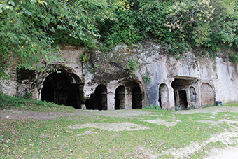 The EU-funded Together project has financed restoration work and development of tourist infrastructure: the fortress at Aquae Calidae, near the Bulgarian city of Burgas, and the Monastery of St. Nicholas at Kıyıköy, Turkey ©Together Project