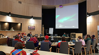 The Sámi parliaments in Sweden, Finland and Norway collaborated on the Giellagáldu project to establish the Nordic Resource Centre for Sámi languages ©Giellagáldu