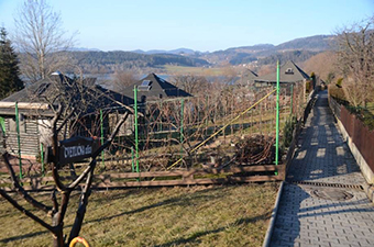 The Kunta Kinte allotments in Velenje, Slovenia – a unique example of an area of second homes ©Drago Kladnik