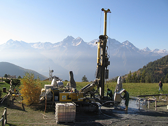 The GRETA interregional project promoted the use of near-surface geothermal energy (NSGE) in six countries, to meet increasing demand for sources of heating. ©GRETA