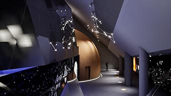 The Hevelianum Centre's planetarium ©Hevelianum, 2018