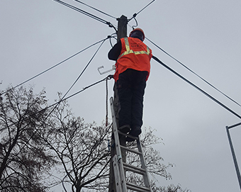 One of the most extensive broadband network construction projects in the EU, the Poland Enters Gigabit Society project is putting high-speed internet at the disposal of schools and households in remote parts of the country. ©Poland Enters Gigabit Society