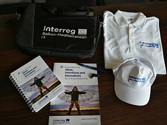i3 project branded promotional material ©Bulgaria Economic Forum 2018