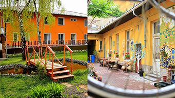 Headquarters of SAD project partners Nádej – Reménység and Megálló Csoport Alapítvány ©Nádej – Reménység, n. o.