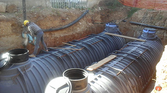 A drainage infrastructure project in Alghero, Sardinia, Italy ©ADAPT