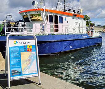 An ADAPT project survey vessel ©Swedish Maritime Administration