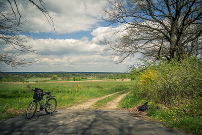 Cycling through the Polish countryside ©Creative Commons