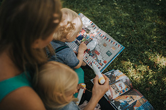 New children's books available in Estonia and Latvia use digital technology to let young readers interact with the story's characters. ©Digital Learning Systems OÜ