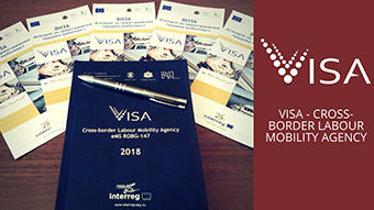 Study and promotional material produced for the VISA project, that helps job seekers in Bulgaria and Romania find work. ©Bulgarian-Romanian Chamber of Commerce and Industry