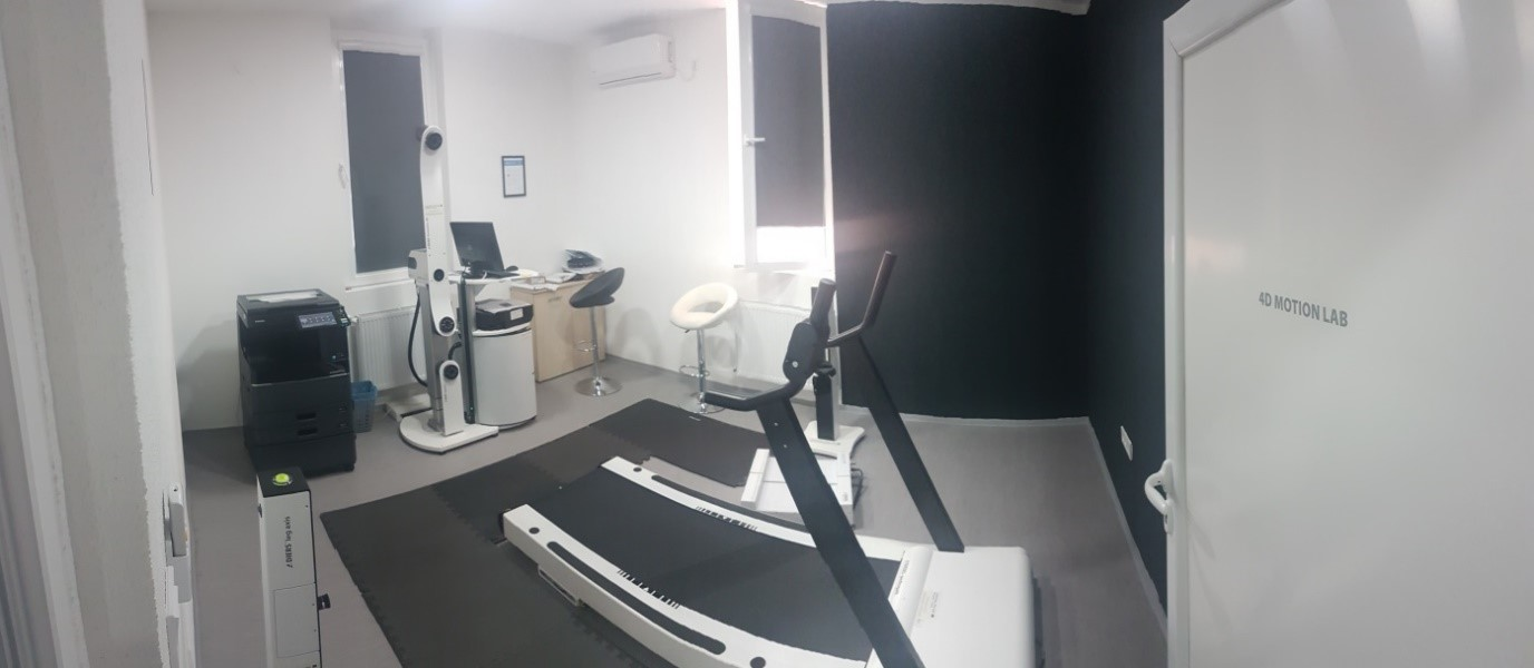 A 4D motion lab in the diagnostic centre for childhood postural and musculoskeletal in Knjazevac, Serbia. The same equipment operates in the centre in Vidin, Bulgaria.   ©Vladica Petrovic