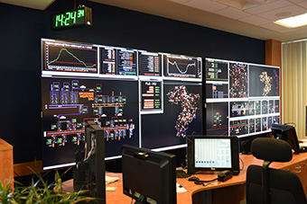 The SCADA control system used to monitor the smart grid ©Energa-Operator SA