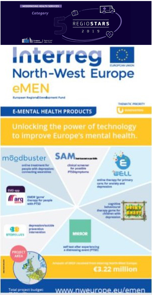 To meet rising demand for mental healthcare in Europe, the eMEN project is developing technology-based applications for prevention, diagnostics, and treatment. ©eMEN
