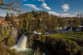 The waterfall at Rastoke, Slunj ©City of Slunj/Viktor Smolić (2015)