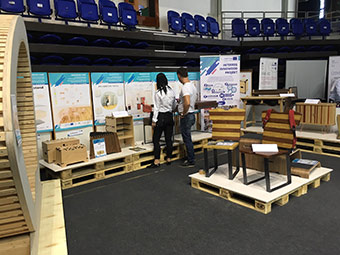 The Innowood project held innovation workshops on wood furniture design and product development, networking events and joint marketing opportunities.  ©Effix-Marketing Kft/Abraham Imre (2018)