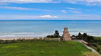 The Torre del Cerrano Marine Protected Area. ©Giunta regionale dell'abruzzo/Luigi Filice 2019