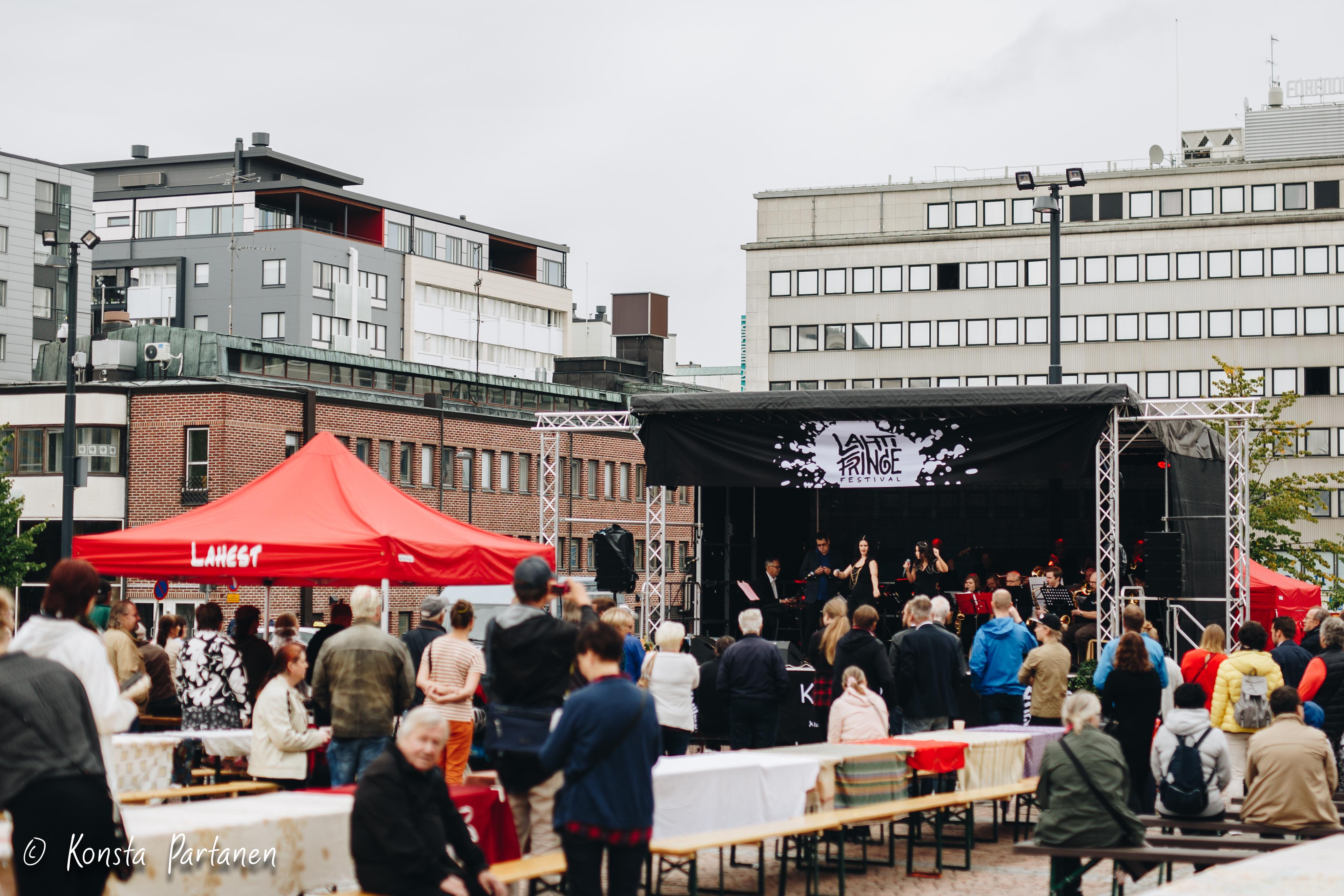 The 2018 Lahti Fringe Festival. ©Lahti University of Applied Sciences/Konsta Partanen (2018)
