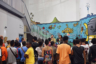 A few hundred young people from Réunion have left under a Volunteers for International Solidarity (VSI) contract to spend time in different countries of the Indian Ocean and Southern Africa. ©France Volontaires – Antenne de La Réunion/Diego Suarez (2018)