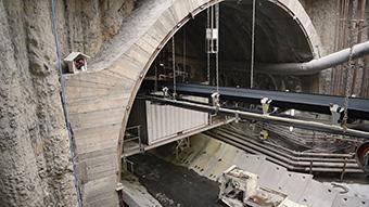 The 6.8 km tunnel will link the Piazza Stesicoro and Fontanarossa airport in Catania, Sicily. ©Luca Savettiere