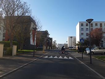 The restored district of La Prairie Grand Espère in Saint-Jean-de-la-Ruelle, in Centre-Val de Loire. ©APIC