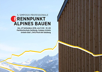 The Alpines Bauen-Lowtech project is finding technology-saving solutions to increase the energy efficiency of buildings. ©ALPINES BAUEN - LOWTECH