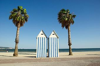 The Sète lido in Marseillan, France. ©Creative Commons
