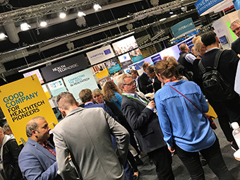 HealthTech Nordic is community of start-ups that provide innovative healthcare solutions for patients and doctors. ©HealthTech Nordic