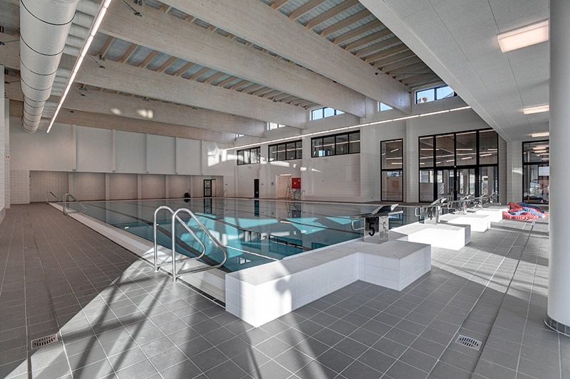 EU funding supported the renovation of the swimming pool at the Vrije Universiteit Brussel's campus in Etterbeek. ©Creative Commons