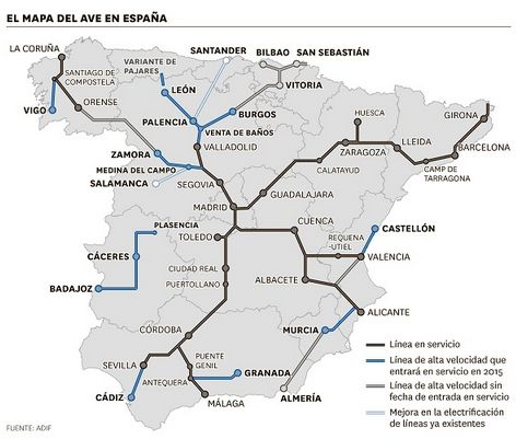 The project covers the 178.6 km Plasencia-Cáceres-Badajoz section of the Madrid-Lisbon high-speed railway. ©European Union