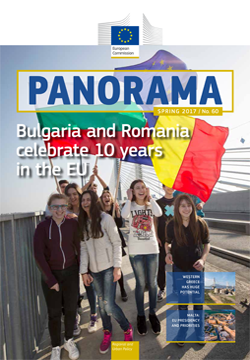 our first issue of 2017 heralds a double celebration it is 10 years since bulgaria and romania joined the eu and a lot has changed during that time