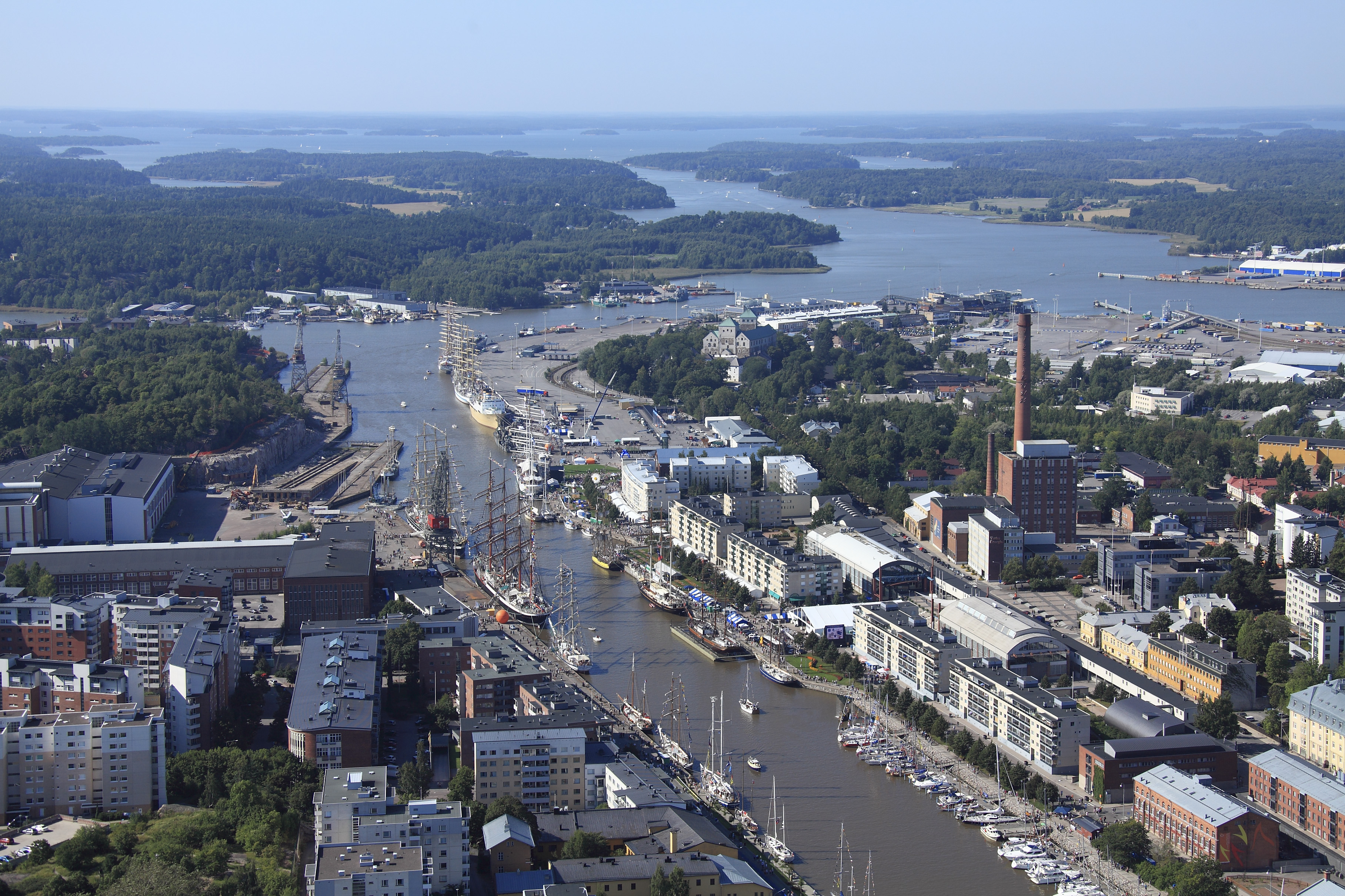 Southern Finland with focus on EU Strategy for the Baltic Sea Region in the City of Turku