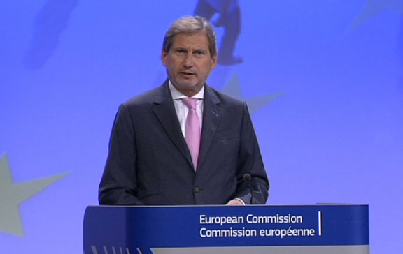 A New Cohesion Policy for Growth and Jobs in Europe: Regional Policy Commissioner Johannes Hahn welcomes vote in European Parliament