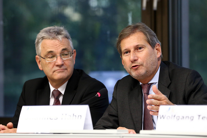 Commissioner Hahn's keynote speech at the Reference Framework for Sustainable Cities Conference