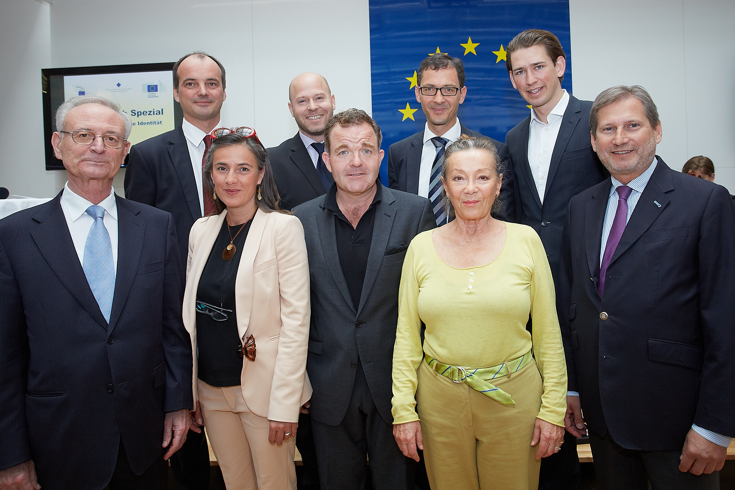 Europe Day with Commissioner Hahn: reaching out to citizens