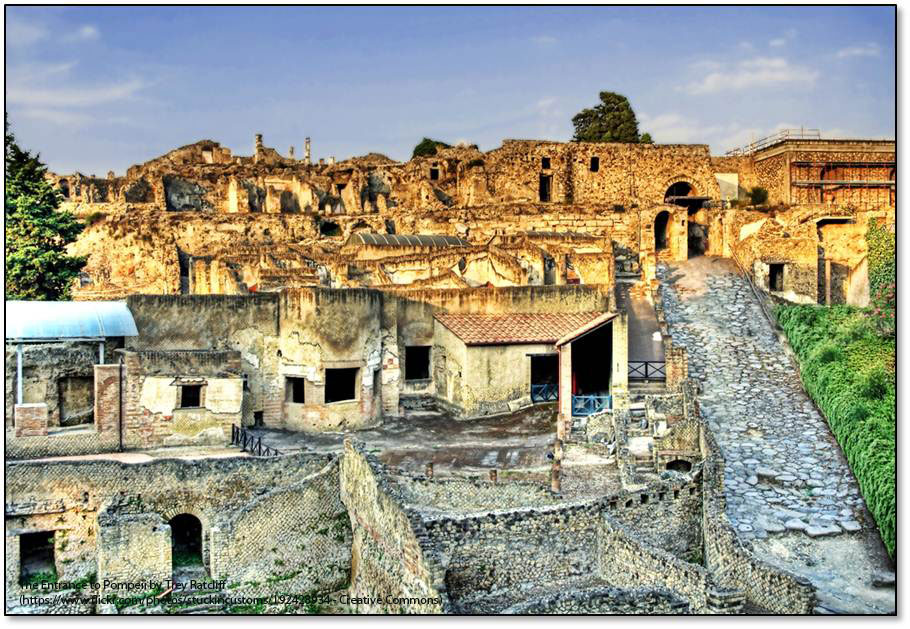 EU Regional Funds leading the restoration of Pompeii 'jewel of European cultural heritage'