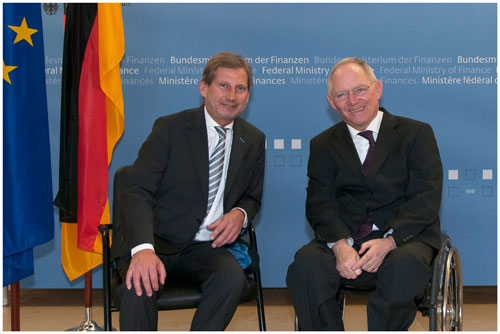 Commissioner Hahn in Berlin to discuss the reform of Cohesion Policy