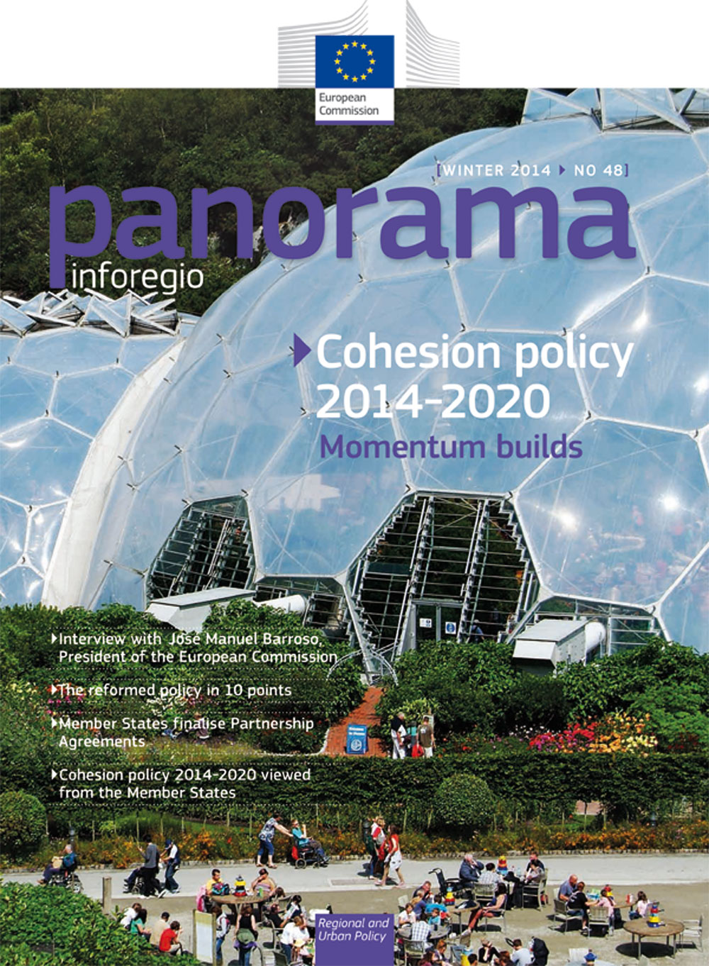 PANORAMA - The Magazine for the actors of regional development: Reformed Cohesion Policy 2014-2020