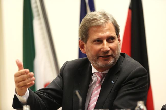 Commissioner Hahn to discuss with Brussels regional offices on regional policy 2014-20: Live Web-streaming