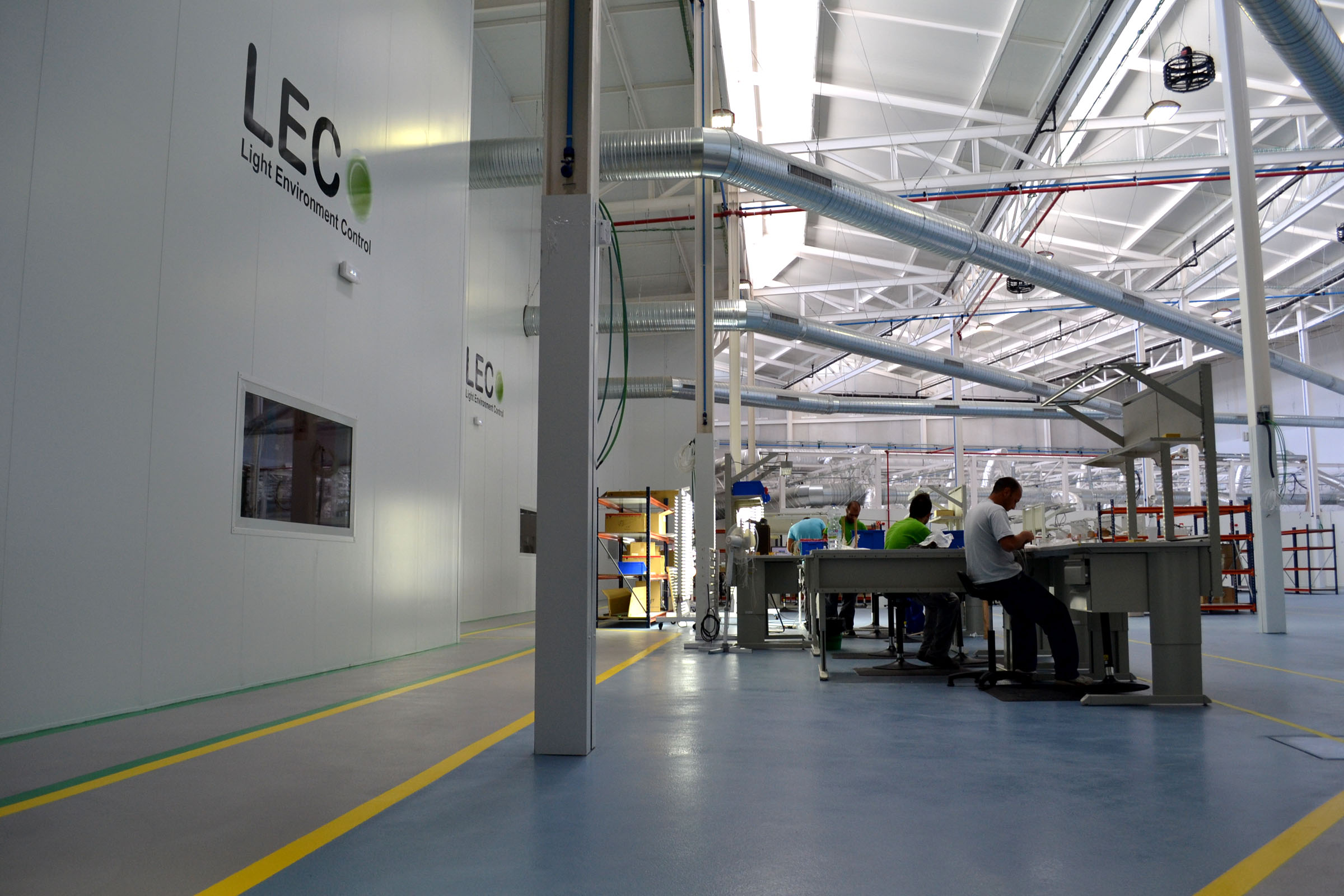 Project of the Week: An innovation centre for a successful Andalusian lighting system company
