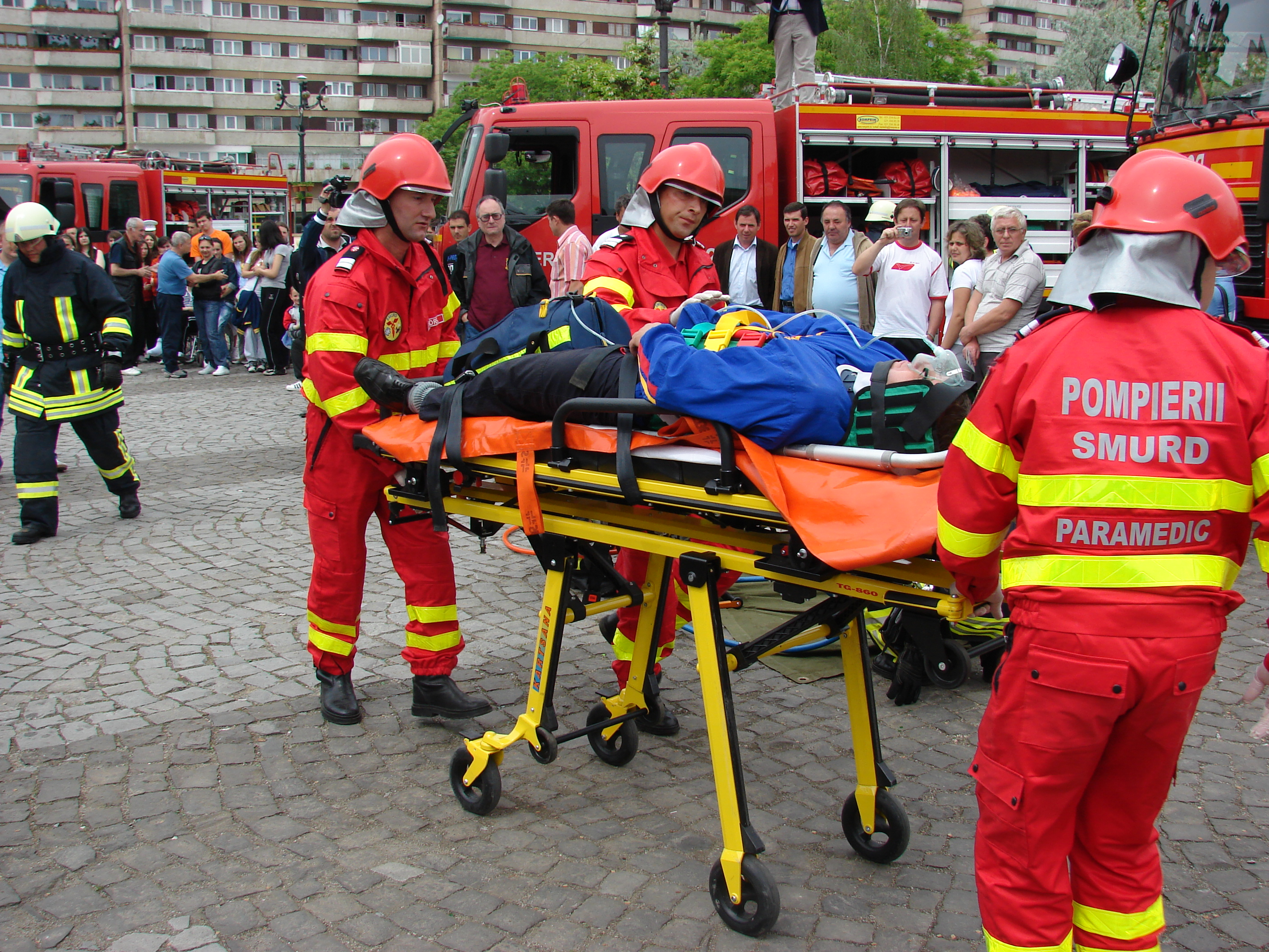 Project of the Week: High performance emergency services in the Centre Region of Romania