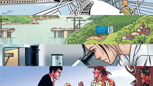 Directorate-General for Regional and Urban Policy presents its new comic book