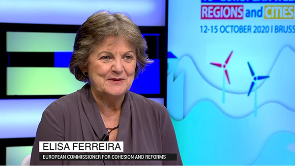 Commissioner Ferreira speaks on the future of Cohesion Policy