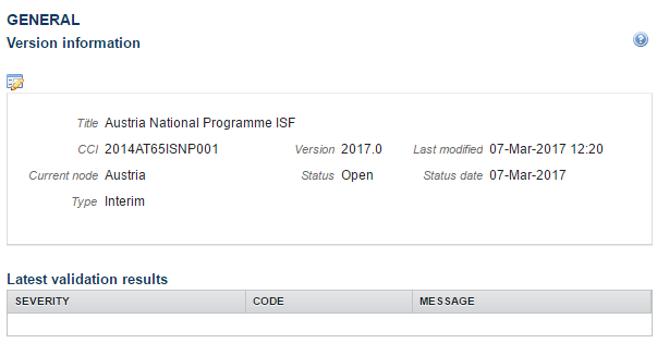 Evaluation Report (ISF) - European Commission
