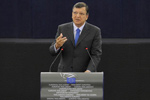 President Barroso at the European Parliament © EU
