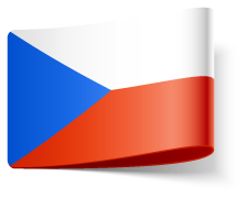 Flag of la Czech Republic