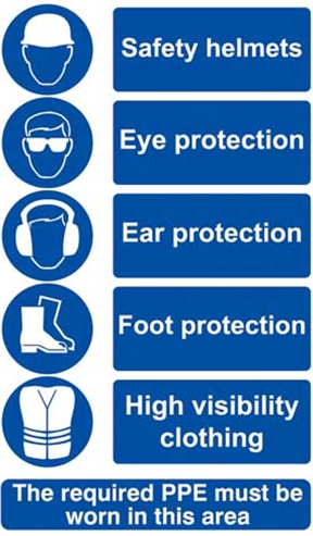 Health And Safety Appendix E Mandatory Safety Signs