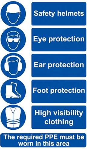 Health And Safety Appendix E Mandatory Safety Signs Samancta