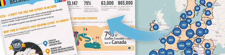 Eu Canada Comprehensive Economic And Trade Agreement Ceta Trade
